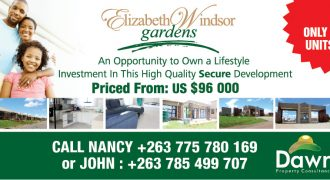 Marlborough- Elizabeth Windsor Gardens
