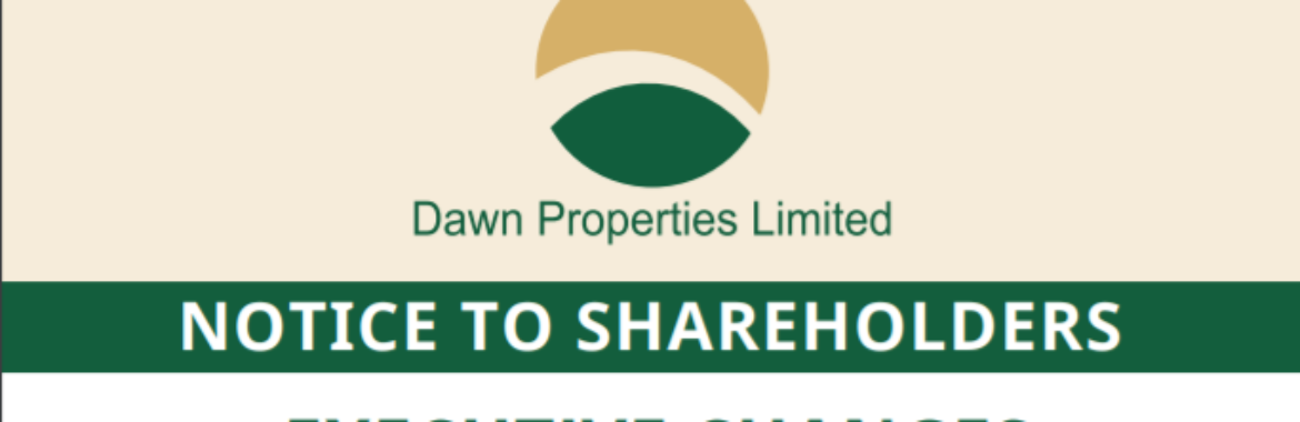 Notice to Shareholders